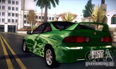 Honda Integra Normal Driving для GTA San Andreas вид слева