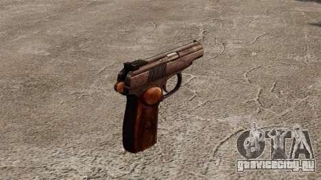 Самозарядный пистолет Макарова для GTA 4 второй скриншот