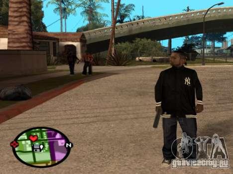 Новый Bmybar для GTA San Andreas