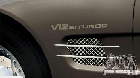 Mercedes-Benz SL65 2007 для GTA 4 вид справа
