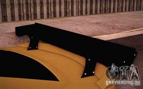Chevrolet Camaro ZL1 для GTA San Andreas вид сверху