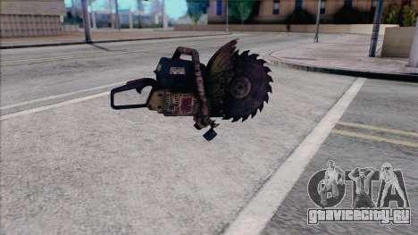Бензопила из Silent Hill Home Coming для GTA San Andreas второй скриншот