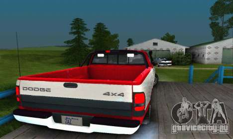 Dodge Ram 2500 для GTA San Andreas вид слева
