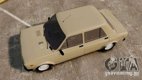 Zastava Yugo 128 для GTA 4 вид справа