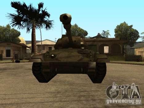 M24-Chaffee для GTA San Andreas вид слева