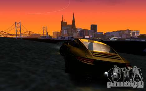 ENBSeries v3 для GTA San Andreas шестой скриншот