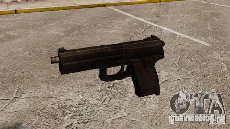 Полуавтоматический пистолет H&K Socom MK23 для GTA 4 третий скриншот