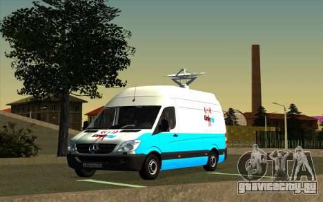 Mercedes Sprinter Entire FM для GTA San Andreas
