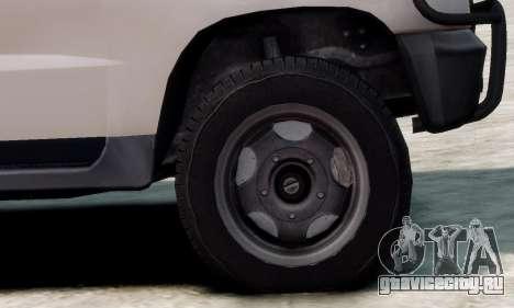 УАЗ 3160 для GTA 4 вид сзади