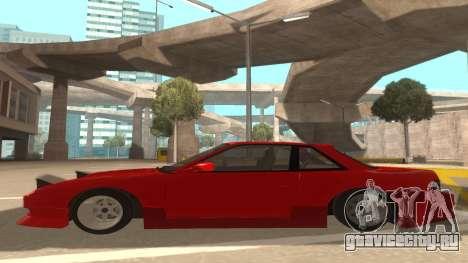 Nissan Onevia для GTA San Andreas вид сзади слева
