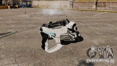 Пистолет Mass Effect v1 для GTA 4