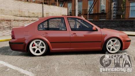 Volkswagen Bora VR6 2003 для GTA 4 вид слева