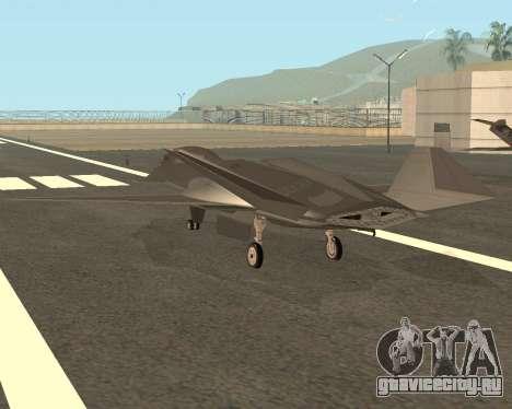FA-37 Talon для GTA San Andreas вид сзади слева