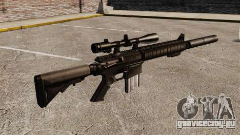 Снайперская винтовка SR-25 для GTA 4 второй скриншот