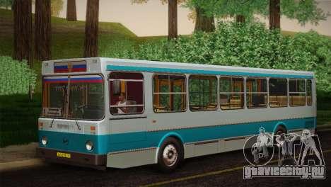ЛиАЗ 5256.00 Скин-пак 4 для GTA San Andreas вид справа