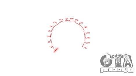 Спидометр 320 km-h для GTA 4