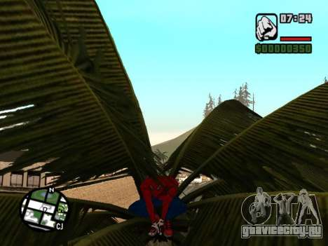Присесть как человек-паук для GTA San Andreas четвёртый скриншот