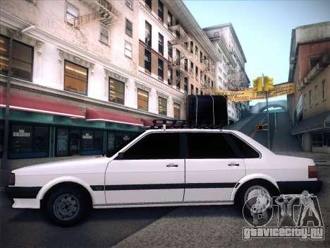 Audi 80 B2 v2.0 для GTA San Andreas вид сбоку