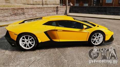 Lamborghini Aventador LP720-4 50th Anniversario для GTA 4 вид слева