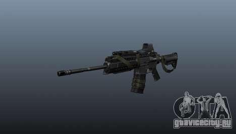 Автомат M4 SIRS Sopmod для GTA 4