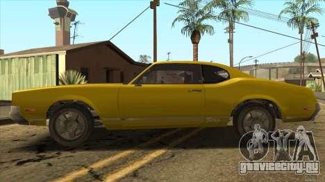 Sabre HD from GTA 3 для GTA San Andreas вид слева