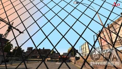 Исправление чёткость забора из сетки рабицы для GTA 4 второй скриншот