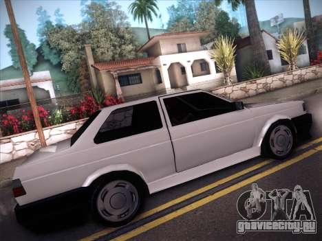 Volkswagen Voyage GL 94 2.0 для GTA San Andreas вид сзади