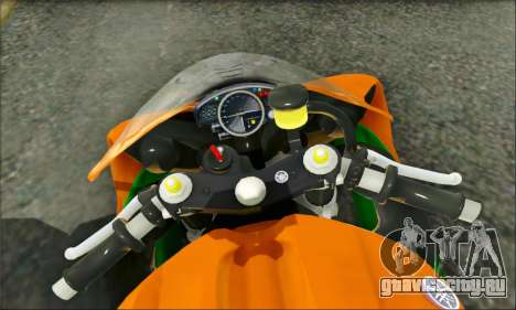 Yamaha R15 для GTA San Andreas вид справа