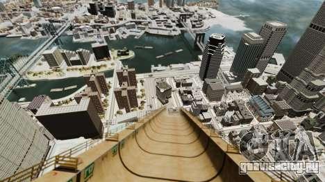 Мега трамплин для GTA 4 третий скриншот