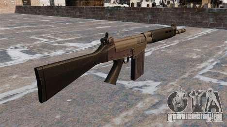 Автоматическая винтовка FN FAL для GTA 4 второй скриншот