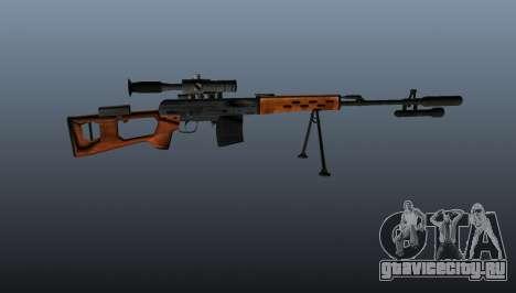 Снайперская винтовка Драгунова A&K для GTA 4 третий скриншот