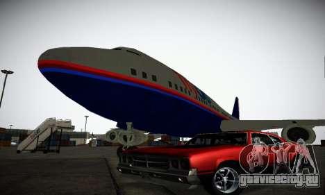 GTA IV Sabre Turbo для GTA San Andreas вид снизу