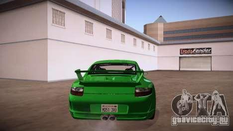 Porsche 911 TT Ultimate Edition для GTA San Andreas вид сзади слева
