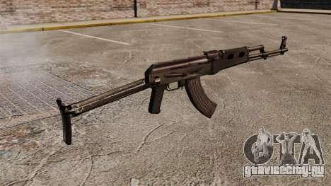 Автомат AK-47 v7 для GTA 4 второй скриншот