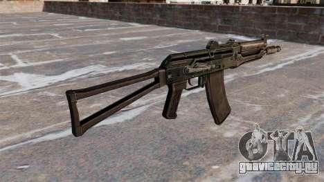 Автомат АКС74У Black для GTA 4 второй скриншот