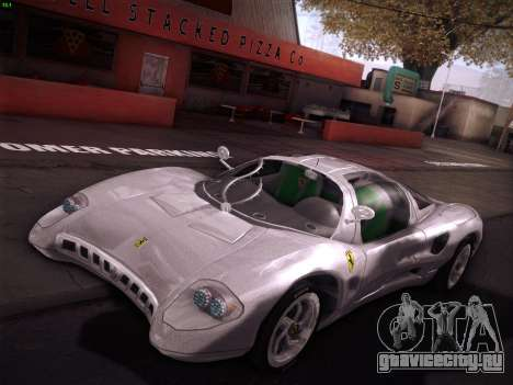 Ferrari P7 Chromo для GTA San Andreas