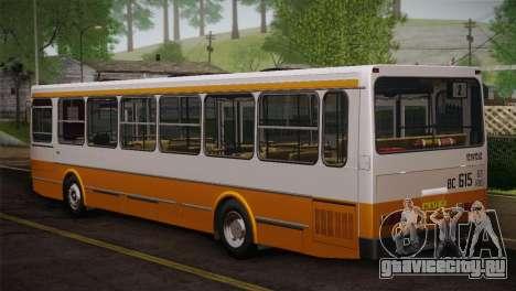 ЛиАЗ 5256.00 Скин-пак 3 для GTA San Andreas вид снизу