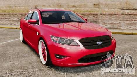 Ford Taurus SHO 2010 для GTA 4