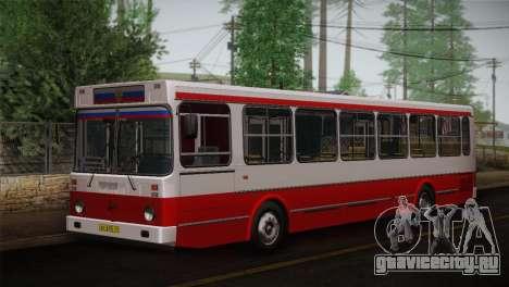ЛиАЗ 5256.00 Скин-пак 3 для GTA San Andreas вид изнутри