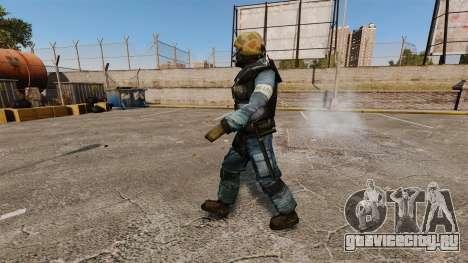 Немецкий спецназовец GSG-9 для GTA 4 второй скриншот
