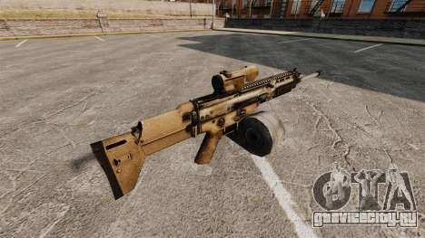 Штурмовая винтовка SCAR LMG для GTA 4 второй скриншот