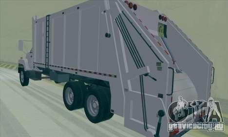 GMC C550 Topkick Trashmaster для GTA San Andreas вид справа