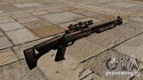 Самозарядное ружьё Benelli M4 Super 90 для GTA 4 второй скриншот