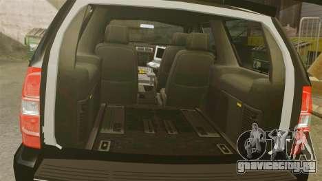 Chevrolet Tahoe Police [ELS] для GTA 4 вид изнутри
