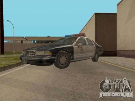 Chevrolet Caprice LAPD 1991 для GTA San Andreas