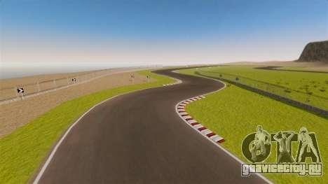 Трасса Spa-Francorchamps Mini для GTA 4 пятый скриншот
