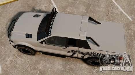 Vapid Contender T-Rex SDT v3.0 для GTA 4 вид справа