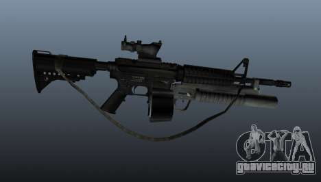 Автомат M4 C-Mag для GTA 4 третий скриншот