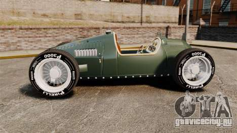 Auto Union Type C 1936 для GTA 4 вид слева