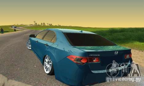 Honda Accord Tuning для GTA San Andreas вид изнутри